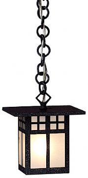 "Glasgow 43.125"" Outdoor Hanging Lantern By Arroyo Craftsman"