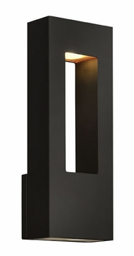 "Hinkley Atlantis 16"" Dark Sky Outdoor Wall Lighting Fixture - Contemporary 1648SK"