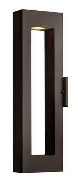 "Hinkley Atlantis 24"" Dark Sky Exterior Wall Light - Contemporary 1644BZ"