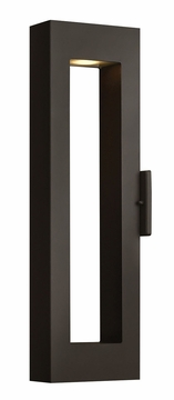 "Hinkley Atlantis 24"" Dark Sky Outdoor Lighting Sconce - Contemporary 1644SK"