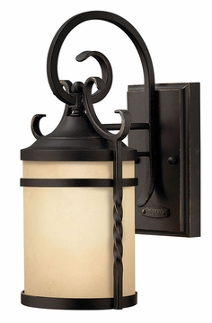 Hinkley Casa Outdoor Wall Sconce - Wrought Iron 1144OL