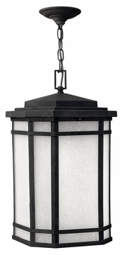 Hinkley Cherry Creek Outdoor Hanging Light Fixture - Black 1272VK
