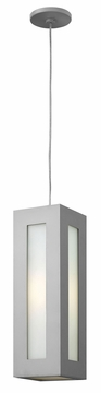 Hinkley Dorian Outdoor Pendant Light - Titanium 2192TT