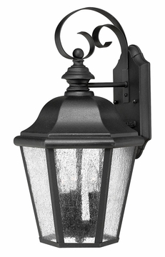 "Hinkley Edgewater LED 18"" Outdoor Wall Lighting Fixture - Black 1676BK-LL"