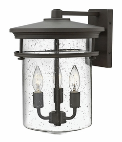 "Hinkley Hadley 15"" Outdoor Wall Lantern - Bronze 1625KZ"