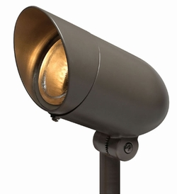 Hinkley Hardy Island 30 Degree LED Outdoor Spotlight - Bronze 1537BZ-4KLED30