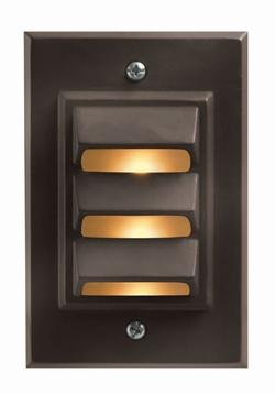 Hinkley Hardy Island Vertical LED Outdoor Deck/Step Light - Bronze 1542BZ-LED