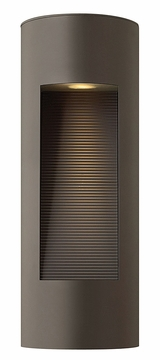 "Hinkley Luna 16"" Dark Sky Outdoor Wall Lighting - Contemporary 1660BZ"