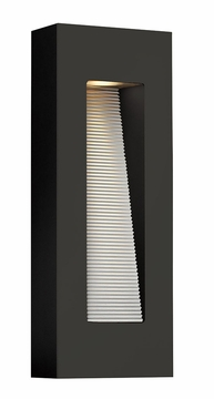 "Hinkley Luna 16"" LED Outdoor Wall Sconce - Black 1668SK-LED"