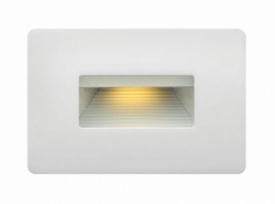 Hinkley Luna LED Exterior Step Light - Satin White 58508SW