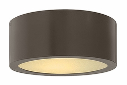 Hinkley Luna LED Flush Mount Outdoor Light - Bronze 1665BZ