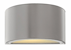 Hinkley Luna Up and Down LED Outdoor Wall Lantern - Titanium 1662TT