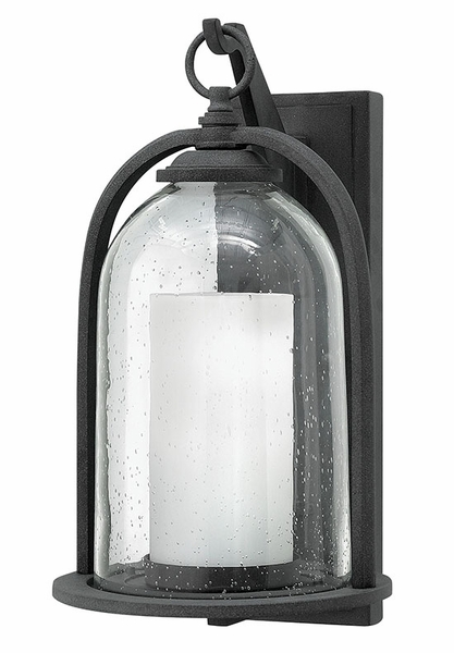 Hinkley Quincy 16 75 Quot Led Outdoor Wall Light Zinc 2615dz Led