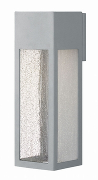 "Hinkley Rook LED 15"" Exterior Wall Light - Titanium 1785TT-LL"