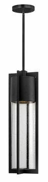 "Hinkley Shelter 21.75"" Dark Sky Outdoor Hanging Light - Black 1322BK"