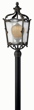 Hinkley Sorrento Outdoor Post Light - Aged Iron 1421AI