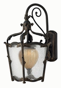 Hinkley Sorrento Outdoor Wall Sconce - Aged Iron 1424AI