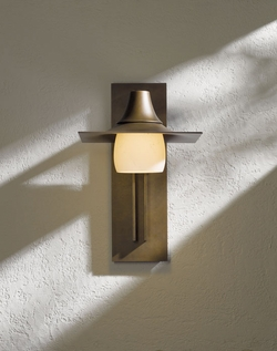 "Hood 16"" Outdoor Wall Lighting Fixture By Hubbardton Forge 306565"