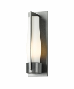 "Hubbardton Forge 15.5"" Harbor Medium Outdoor Wall Sconce Lighting - Transitional 305003"