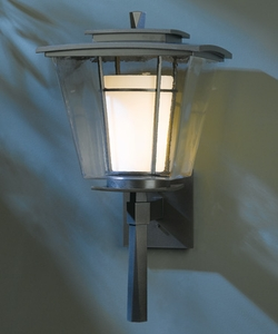 "Hubbardton Forge Beacon Hall 23.4"" Outdoor Wall Sconce Lighting"