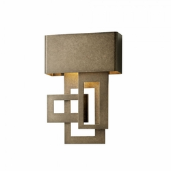Hubbardton Forge Collage Small Right LED Outdoor Wall Sconce 302520DR