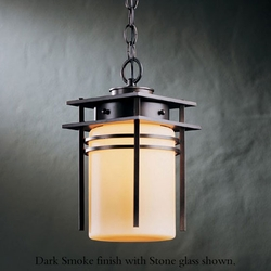 "Hubbardton Forge Double Banded 10.7"" Hanging Outdoor Light"