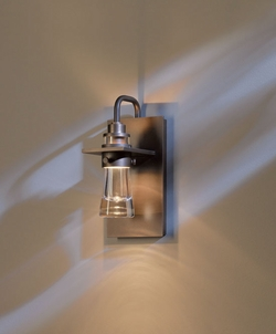 "Hubbardton Forge Erlenmeyer 9.5"" Outdoor Wall Sconce Lighting - Halogen 307710"
