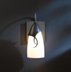 "Hubbardton Forge Flora Small 11.6"" Outdoor Wall Light - Transitional 303073"