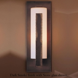 """Hubbardton Forge Forged Vertical Bar 23.5"""" Exterior Wall Lighting Fixture - Contemporary"""