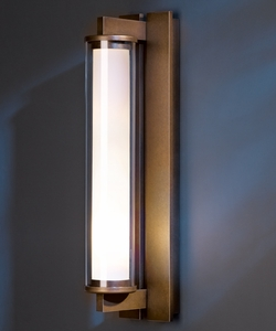 """Hubbardton Forge Fuse Large 21"""" Exterior Wall Light - Contemporary 306455"""