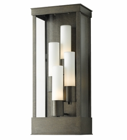Hubbardton Forge Portico Large Outdoor Wall Lighting Fixture - Transitional 304330