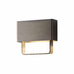 "Hubbardton Forge Quad Small 8"" LED Outdoor Wall Lighting Fixture 302510D"
