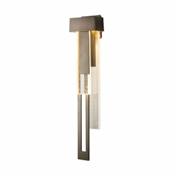 "Hubbardton Forge Rainfall Large LED 30.2"" Exterior Wall Lighting 302533"