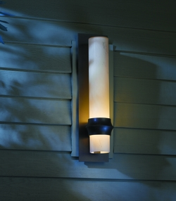 """Hubbardton Forge Rook 19.5"""" Outdoor Wall Mount - Contemporary 304933"""