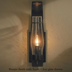 "Hubbardton Forge Sea Coast Large 24.2"" Outdoor Wall Sconce Lighting"