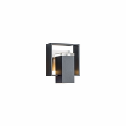 "Hubbardton Forge Shadow Box 8.5"" Small Outdoor Wall Sconce 302601"