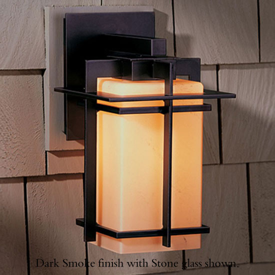 """Hubbardton Forge Tourou: Hubbardton Forge Tourou 11.4"""" Outdoor Wall Sconce Lighting"""