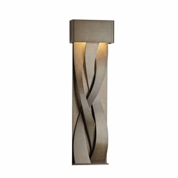 "Hubbardton Forge Tresse Large 31.8"" LED Outdoor Wall Lamp 302529D"