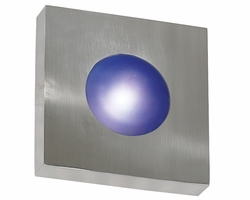 "Kenroy Home Burst 8"" Outdoor Wall/Ceiling Fixture - Polished Aluminum 72825PA"