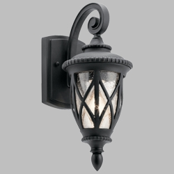 "Kichler Admirals Cove 14.75"" Outdoor Wall Light 49846BKT"