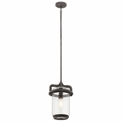 "Kichler Andover 16.25"" Hanging Outdoor Light 49868WZC"