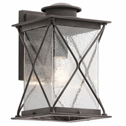 "Kichler Argyle 12.75"" Outdoor Wall Mounted Light 49744WZC"