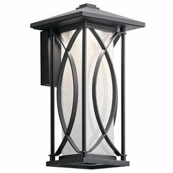 "Kichler Ashbern LED 12.75"" Outdoor Wall Lighting Fixture 49973BKTLED"
