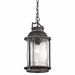 Kichler Ashland Bay Outdoor Pendant Lighting - Zinc 49572WZC