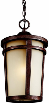Kichler Atwood Outdoor Lighting Pendant - Brown Stone 49075BST