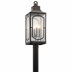 Kichler Bay Village Exterior Post Lamp 49934WZC