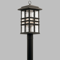 Kichler Beacon Square Outdoor Post Lighting 49832OZ
