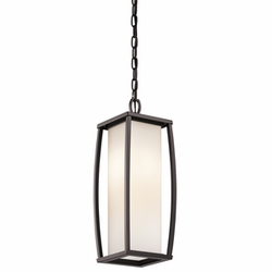 Kichler Bowen Outdoor Hanging Lamp - Contemporary 49341AZ