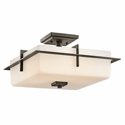 Kichler Caterham Outdoor Ceiling Lighting - Bronze 49641OZ