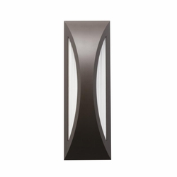 "Kichler Cesya 18"" LED Outdoor Wall Sconce Lighting - Bronze 49436AZ"